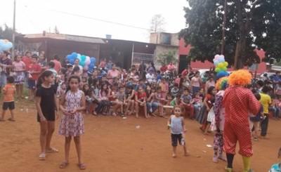 Emotivo festejo por Día del Niño en el barrio La Blanca