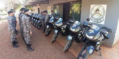 Lince recibe nuevas motocicletas para reforzar tareas