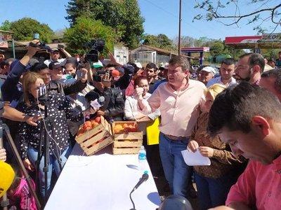 Productores de tomate levantan protesta y MAG acompañará comercialización de cosecha