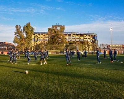 Todo listo en Cerro Porteño para enfrentar a River Plate