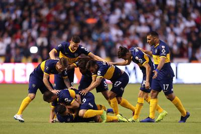 Boca demuestra más altura y golea a Liga en Quito
