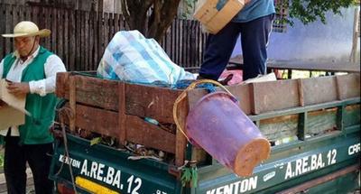 El recolector de basura que  sueña con terminar su Facu