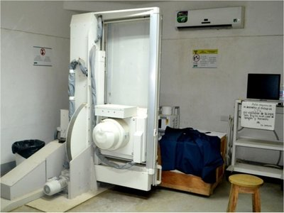 Tomógrafo y equipo de radiografías  no funcionan hace meses en Caacupé