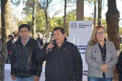 EL MINISTERIO DE DESARROLLO SOCIAL TRANSFIRIÓ MAS DE 130 MILLONES A 375 FAMILIAS EN ALTO VERÁ