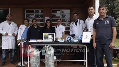 NVA. ALBORADA: TRAS  LA COMILONA SE INVIERTE EN EQUIPAMIENTOS Y SERVICIOS DE SALUD