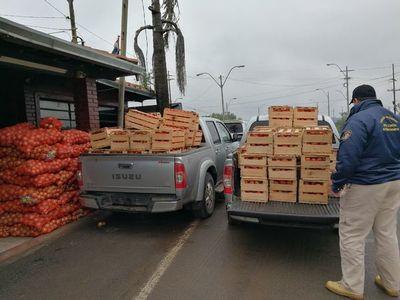 Productores hortícolas exigen freno al contrabando de tomates