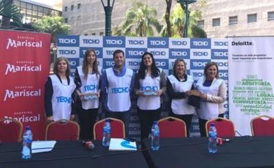Techo lanza campaña institucional y colecta