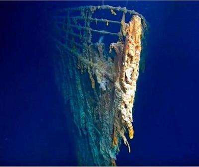 Revelan nuevas imágenes de los restos del Titanic