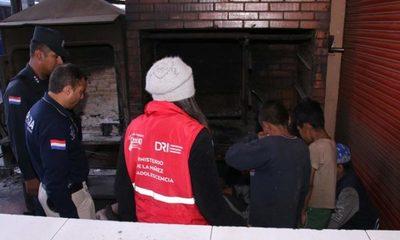 Rescataron a 18 niños indígenas que eran explotados en zona de Terminal