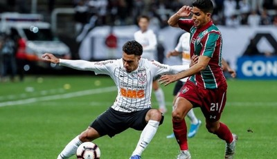 Copa Sudamericana: Corinthians y Fluminense igualan a cero en juego de ida por cuartos de final