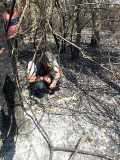 Ministerio del Ambiente monitorea zona del incendio y proyecta rescate de animales silvestres