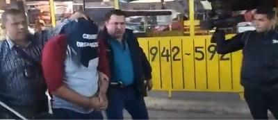 """Detienen a """"Roque Pyguasu"""", el asalta bancos más buscado del país"""