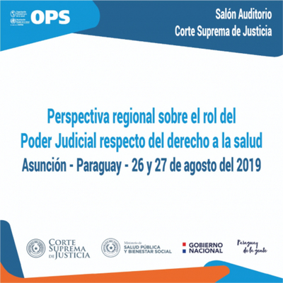 """Jornadas sobre la """"Judicialización de la Salud"""" se realizarán el 26 y 27 de agosto"""