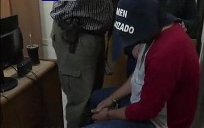 Detienen a Roque 'Pyguasu', líder de banda de asalta bancos y cajeros