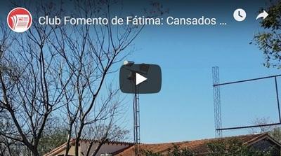 Fomento de Fátima: Cansados de reiterados robos de sus reflectores