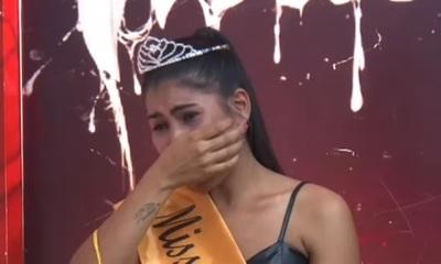 La Miss Ñaña denunció que apedrearon su casa