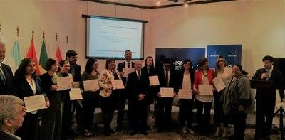 Ex beneficiarios de Becal fueron distinguidos en Premio Mercosur de Políticas Sociales