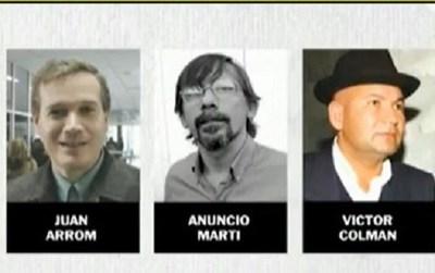 Detienen en Uruguay a Martí, Arrom y Colmán