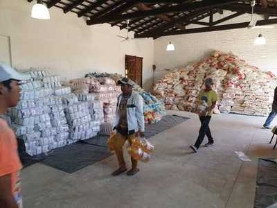 Gobernación recibe camionada de víveres para nativos
