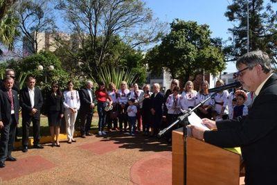 Ucranianos en Paraguay celebraron independencia de su país