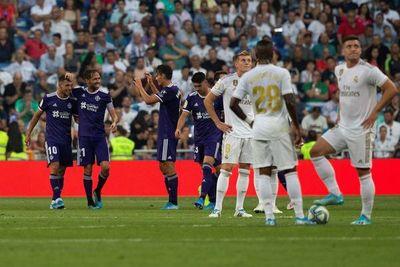 El Real Madrid vuelve a las andadas