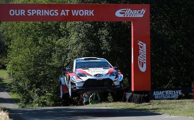 Toyota reina en Alemania, con Ott Tänak más líder