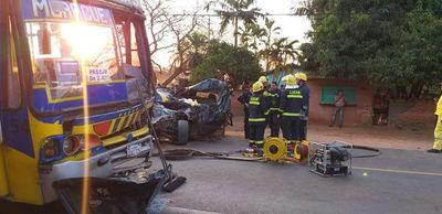 Accidente de tránsito con derivación fatal