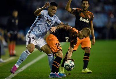 Un gran Celta gana por la mínima al Valencia