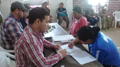 Gobierno entregó capital semilla para 67 familias indígenas emprendedoras de Boquerón