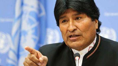 Evo Morales está abierto a recibir ayuda internacional para combatir incendios