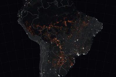 Gobierno localiza cinco principales incendios en Bolivia