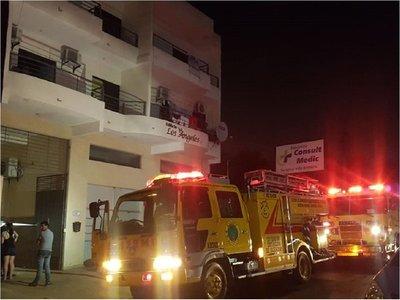 Detienen a ex pareja de mujer fallecida en incendio en Luque