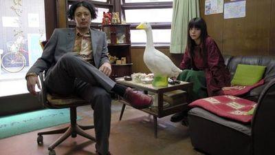 Película japonesa en la Manzana de la Rivera