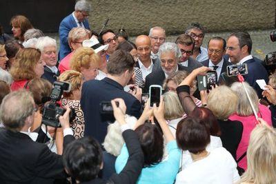 Plácido Domingo, ovacionado en Salzburgo