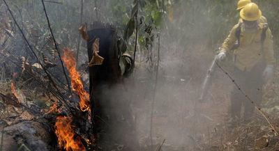 El G7 destinará más de $20 millones para luchar contra incendios en la Amazonía