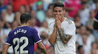 HOY / La 'mala pata' del colombiano Rodríguez en su vuelta al Real Madrid