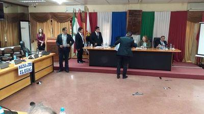 Incidentes en reunión de la Junta itapuense