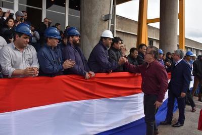 """Duarte Frutos sobre línea de 500 KV en Yacyretá: """"Nuestra posición es intransigente""""."""