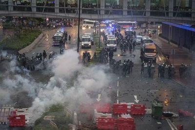 Hong Kong trata de calmar un repunte de la tensión en las manifestaciones