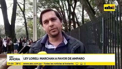 Ley Loreli: Marchan a favor de promulgación