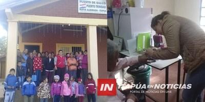 NVA. ALBORADA: ENFERMERA PRESTA SERVICIOS AD HONOREM HACE 7 MESES EN PTO. TRINIDAD