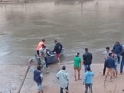 En Azotey, niño desaparece en aguas del río Ypané