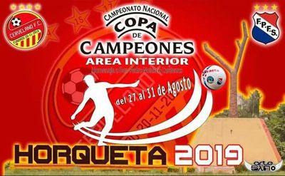 Darán apertura al campeonato nacional de clubes en Horqueta