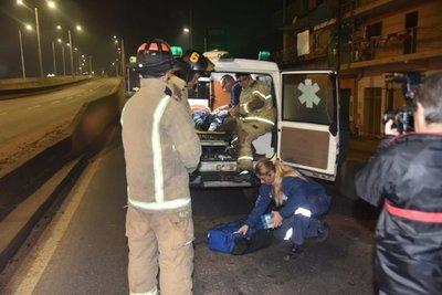Automovilista atropelló a un cocinero y huyó