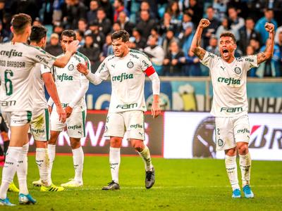 Palmeiras parte con ventaja ante Gremio