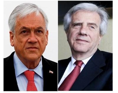 Piñera y Vázquez, los presidentes latinoamericanos más valorados; Abdo ni siquiera fue incluido