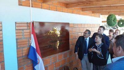 Inauguración de la nueva sede de los madereros de Caaguazú