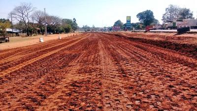 Iniciaron los trabajos previos para la duplicación de la ruta PY02 en Caaguazú