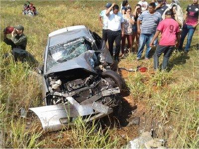 Un hombre muere en violento accidente de tránsito en Arroyito