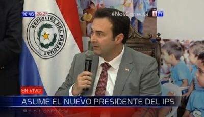 Confirman a Andrés Gubetich como Presidente de IPS